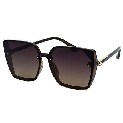 Солнцезащитные очки JC R9965 C3 коричневые     ( R9965-03 ), фото 2