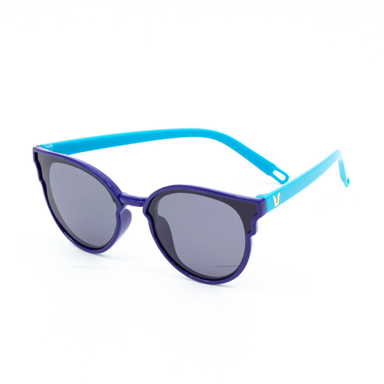 Солнцезащитные очки Marmilen P17125 C5 синие с голубым    ( KAP17125-05 )
