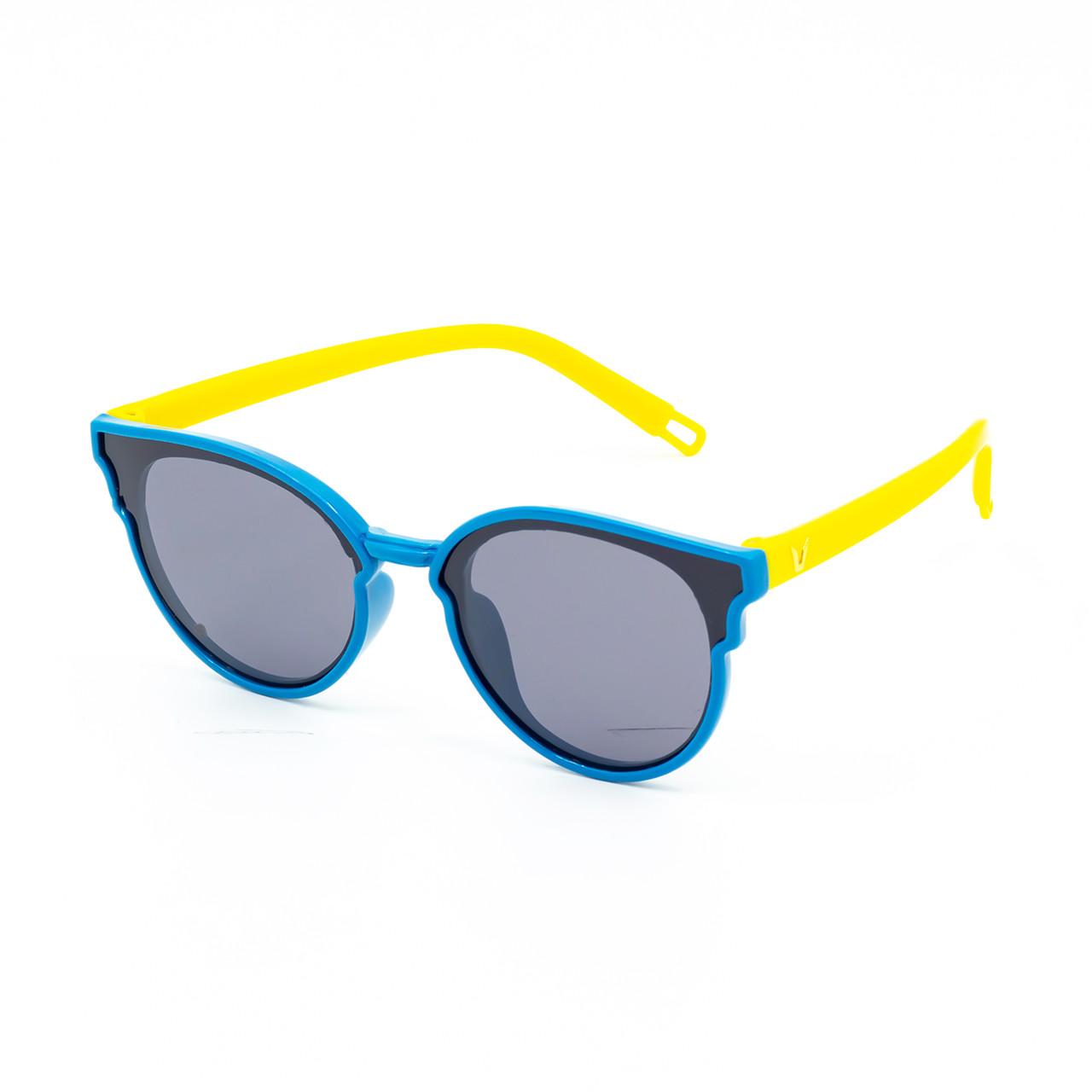 Солнцезащитные очки Marmilen P17125 C6 голубые с желтым ( KAP17125-06 )