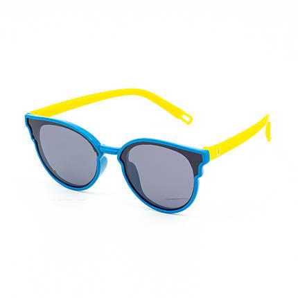 Солнцезащитные очки Marmilen P17125 C6 голубые с желтым    ( KAP17125-06 ), фото 2