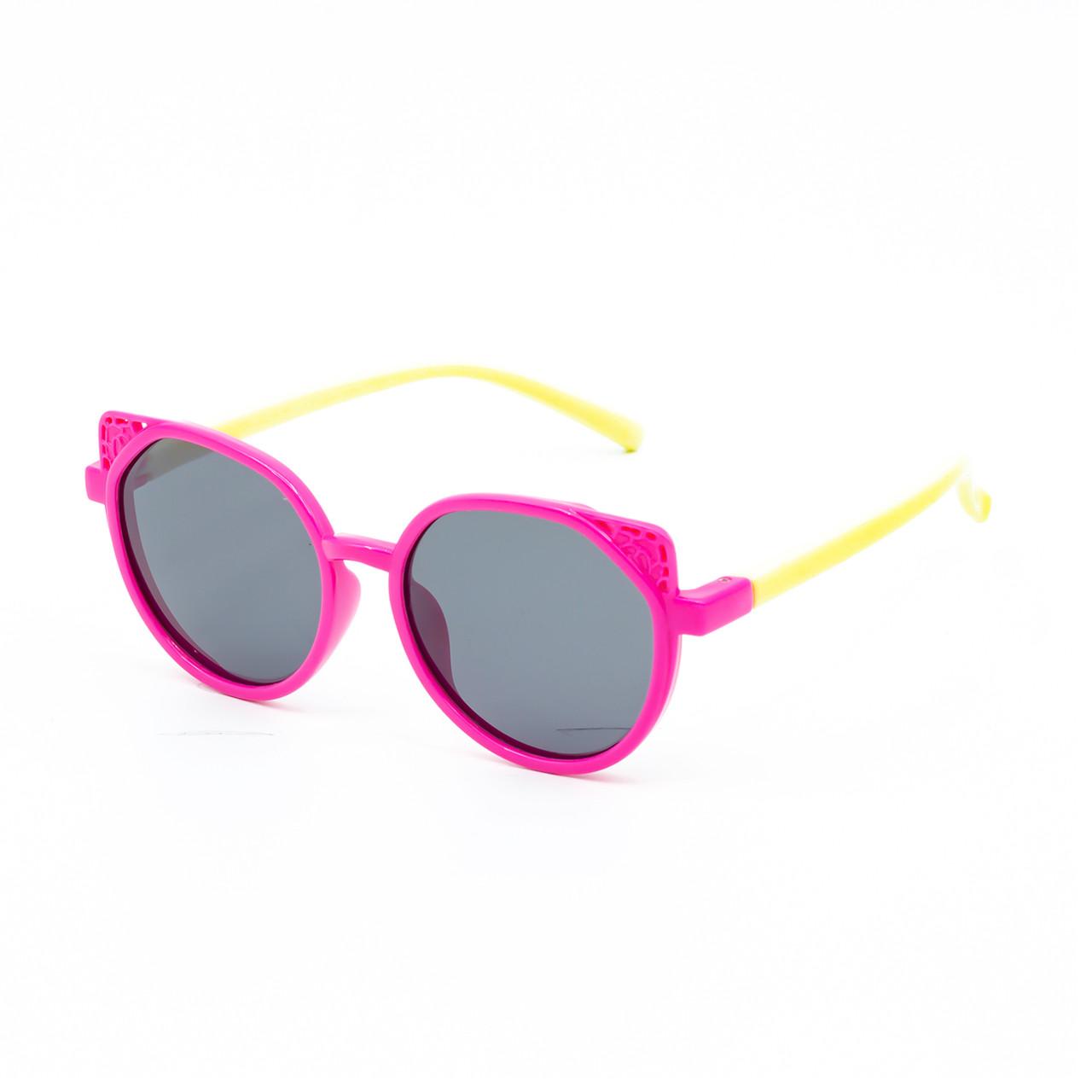Сонцезахисні окуляри Marmilen P18138 C4 рожеві з молочним ( KAP18138-04 )