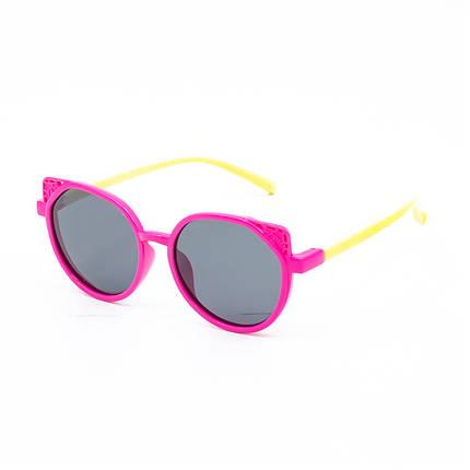 Сонцезахисні окуляри Marmilen P18138 C4 рожеві з молочним ( KAP18138-04 ), фото 2