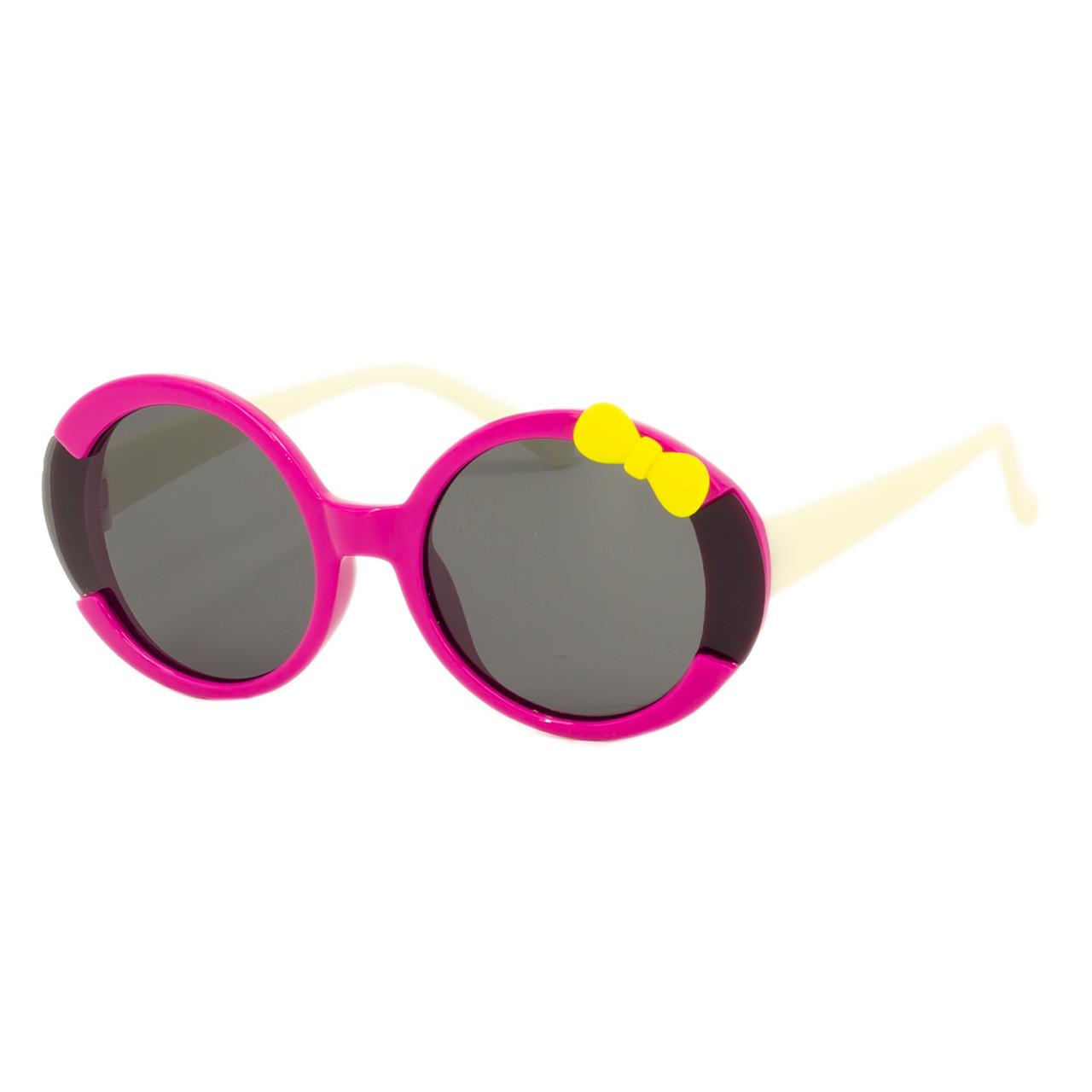 Солнцезащитные очки Marmilen P16136 C3 розовые с белым    ( KAP16136-03 )