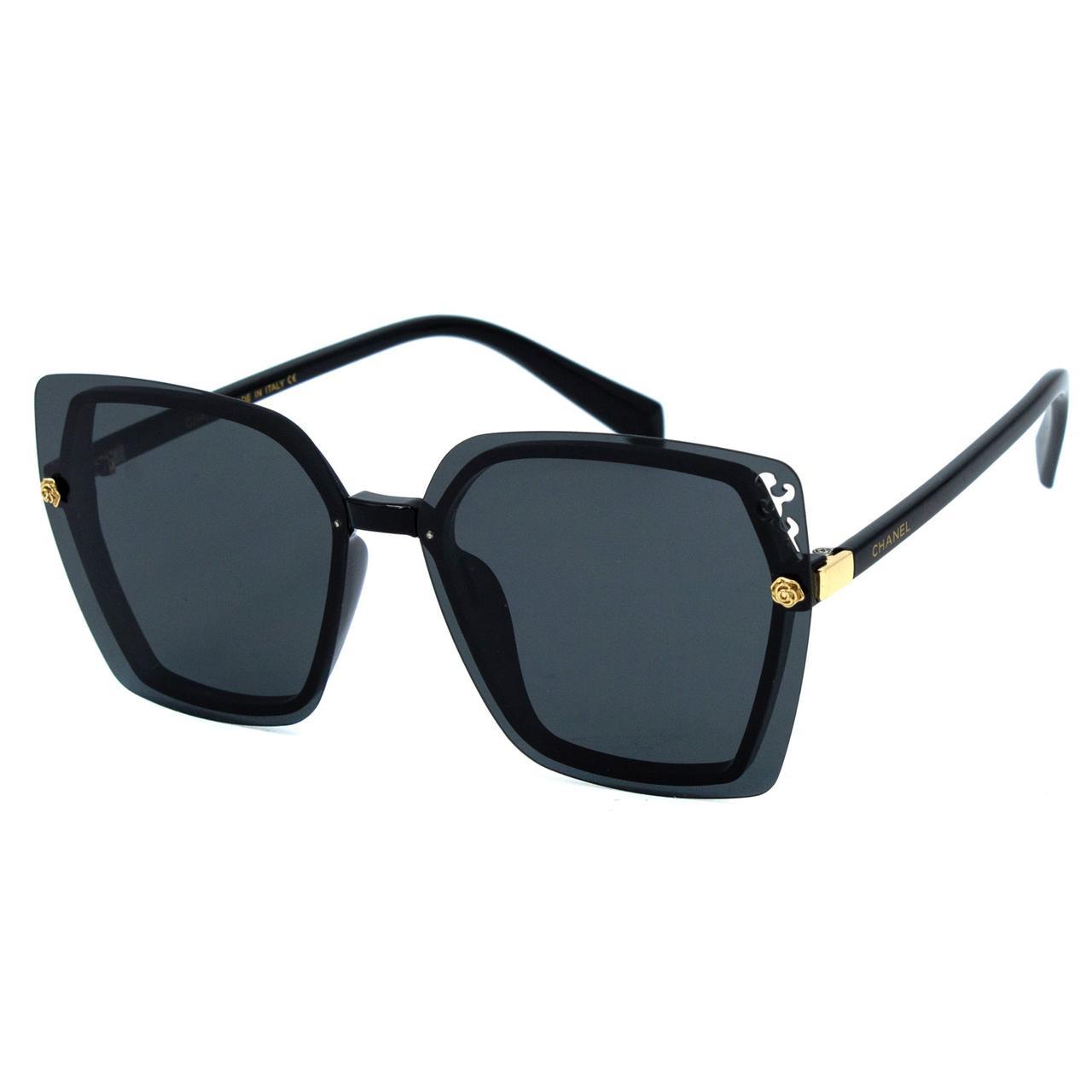 Солнцезащитные очки Ch R9956 C1 черные     ( R9956-01 )