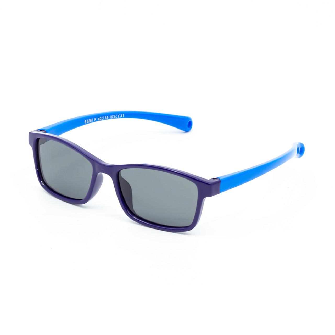 Солнцезащитные очки Marmilen S8260P C31 темно синие  с голубым    ( KAS8260P-31 )