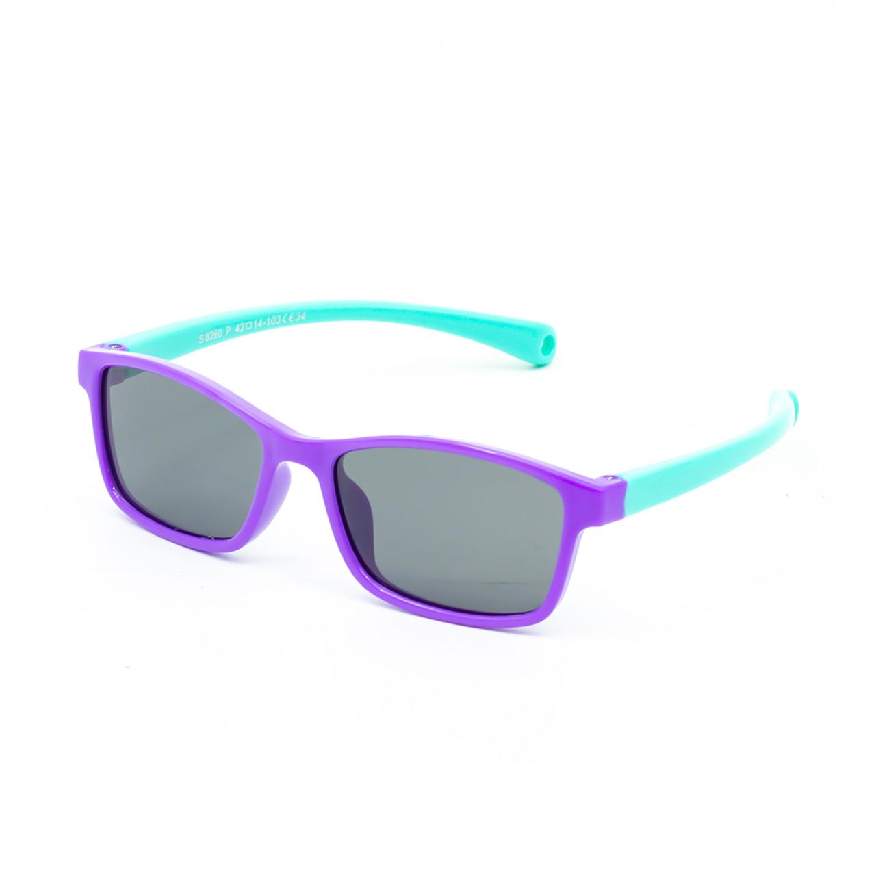 Солнцезащитные очки Marmilen S8260P C34 сиреневые с мятой     ( KAS8260P-34 )