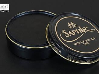 Паста для обуви Saphir Medaille D'or Pate De Luxe, цв. черный (01), 50 мл (1002)