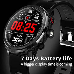 Умные Мужские умные часы Smart Proton Turbo Black