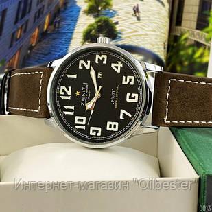 Часы Zenith Pilot Extrta Special Brown-Silver-Blue