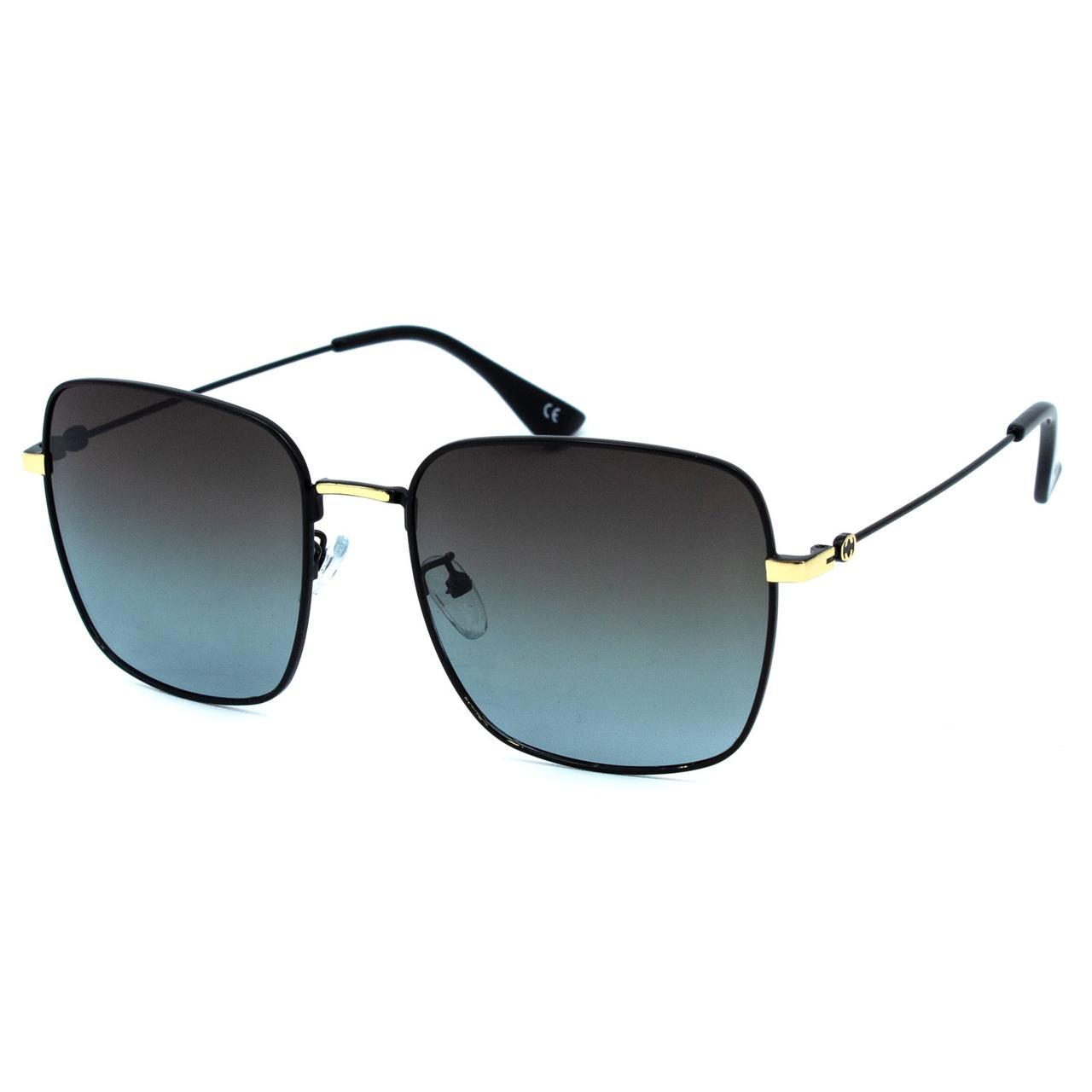Солнцезащитные очки Marmilen Polar 72005 C3 черные с синим   ( 72005-03 )