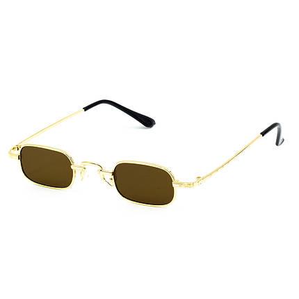 Сонцезахисні окуляри Marmilen 9940 C2 золоті з коричневим ( LE9940-02 ), фото 2