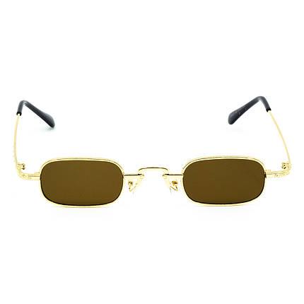 Солнцезащитные очки Marmilen 9940 C2 золотые с коричневым    ( LE9940-02 ), фото 2