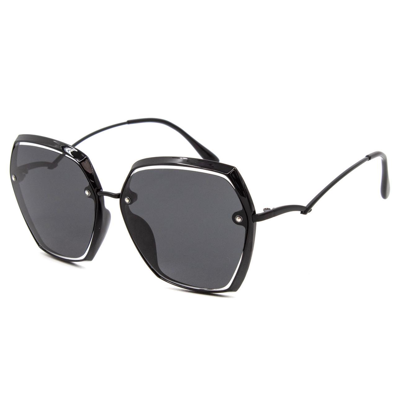 Солнцезащитные очки Marmilen Polar 2206 T1-1 черные оправа металл   ( 2206-T1-1 )