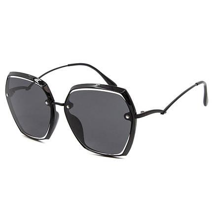 Солнцезащитные очки Marmilen Polar 2206 T1-1 черные оправа металл   ( 2206-T1-1 ), фото 2