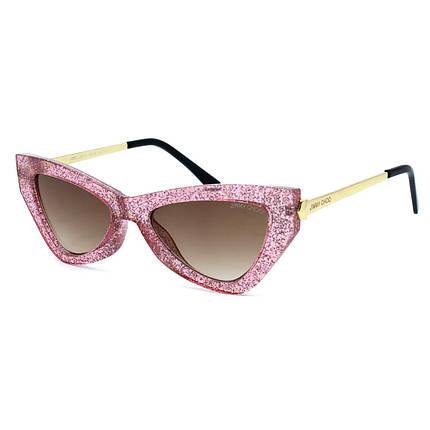 Сонцезахисні окуляри Jimmy Choo R1911 C2 рожеві ( R1911-02 ), фото 2