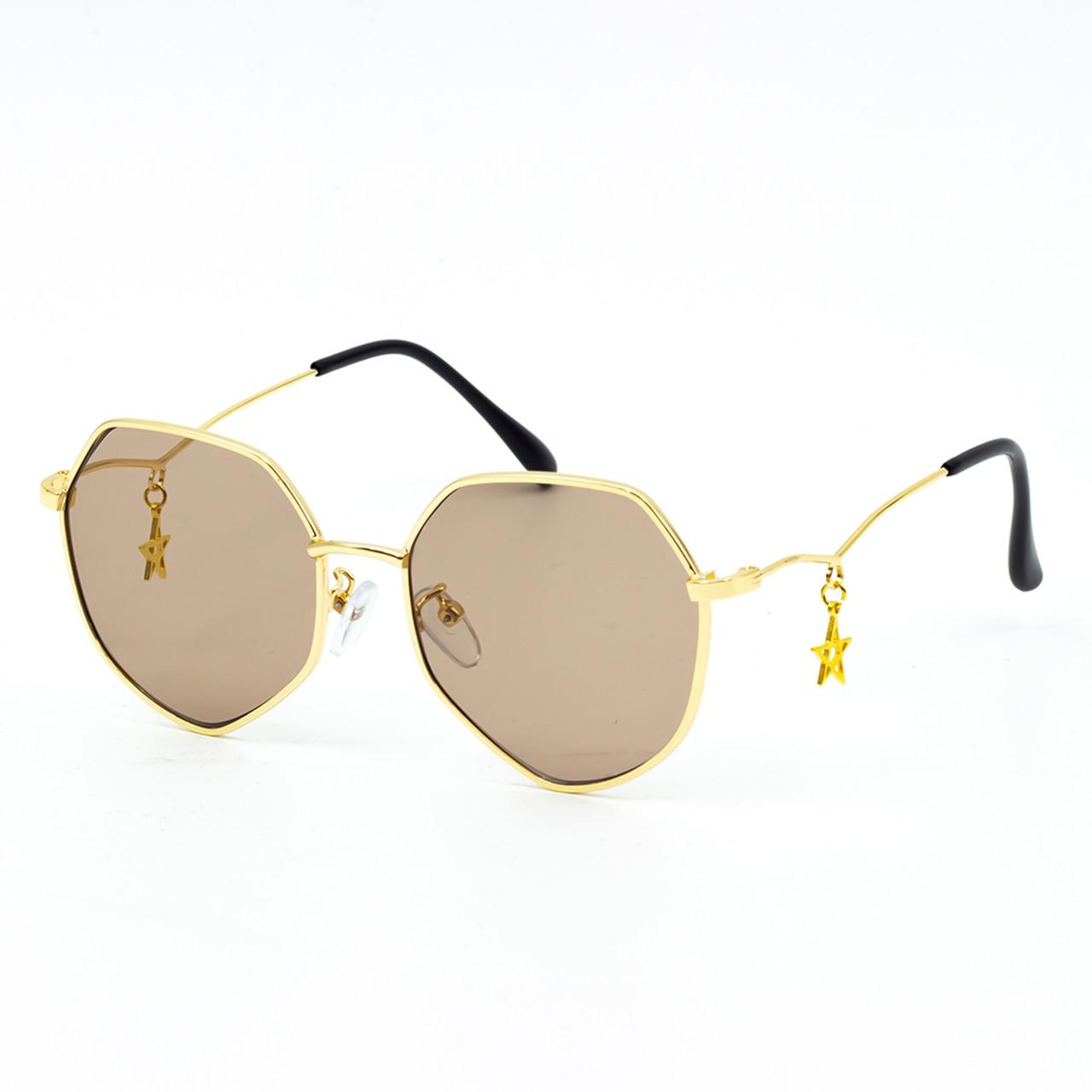 Солнцезащитные очки Marmilen 82020 коричневые      ( AI82020-02 )