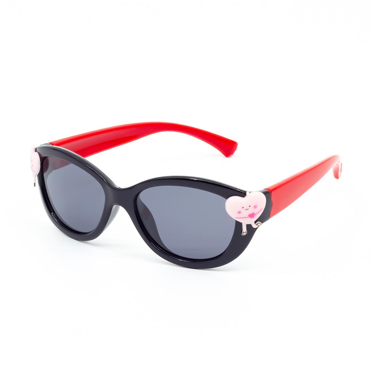 Солнцезащитные очки Marmilen 18160 C4 черные с красным    ( KA18160-04 )
