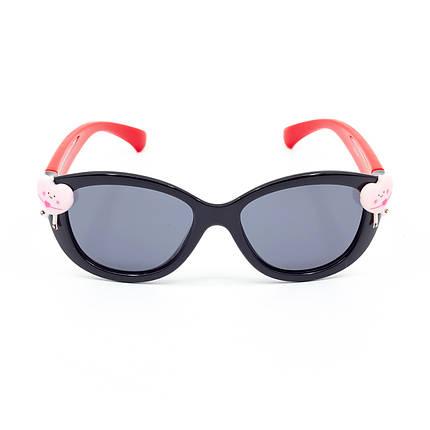 Солнцезащитные очки Marmilen 18160 C4 черные с красным    ( KA18160-04 ), фото 2
