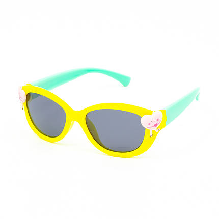 Солнцезащитные очки Marmilen 18160 C7 желтые с мятой ( KA18160-07 ), фото 2
