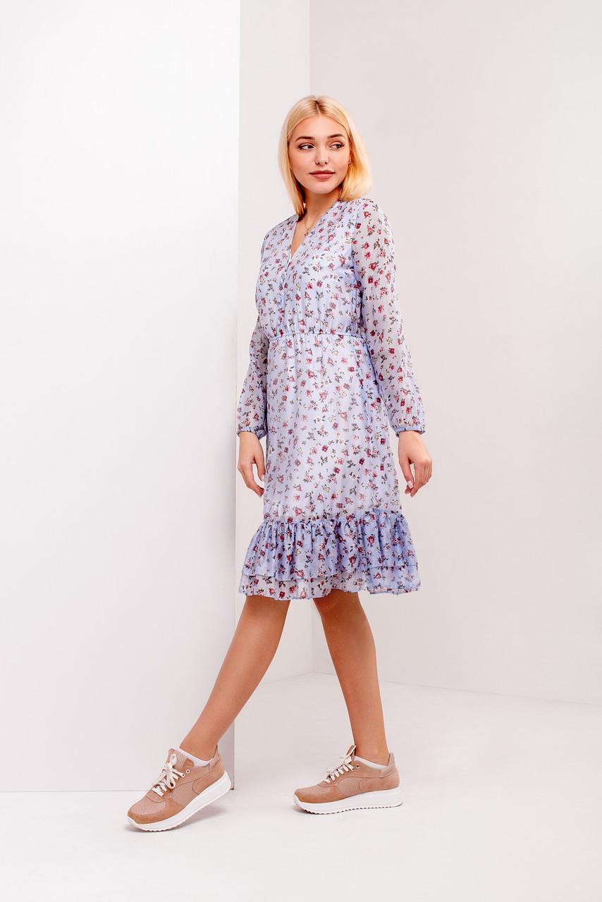 Платье из шифона 2020