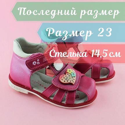 Босоножки для девочки детская серия Ортопед ТМ BI&KI размер 23, фото 2