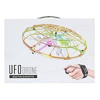 Дрон квадрокоптер с браслетом управления SUPER UFO INDUCTION AIRCRAFT.