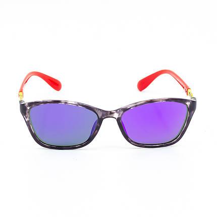 Солнцезащитные очки Marmilen 1297 C4-1 красные сзеркальным покрытием    ( 1297-04-1 ), фото 2