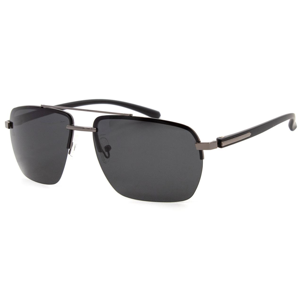 Солнцезащитные очки Marmilen Polar P201902 C3 серебрянные с черным матовые  ( P201902-03 )
