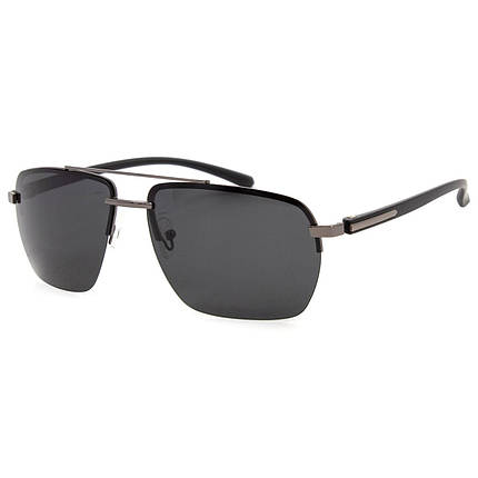 Солнцезащитные очки Marmilen Polar P201902 C3 серебрянные с черным матовые  ( P201902-03 ), фото 2