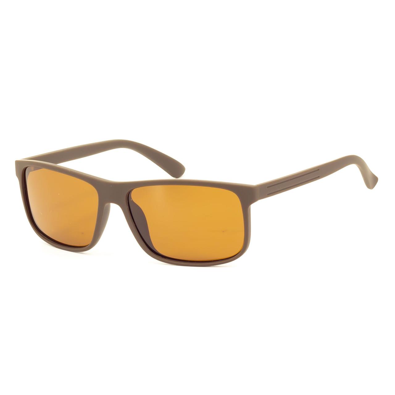Солнцезащитные очки Marmilen TR-90 P1956 C20 кричневые матовые   ( P1956-20 )