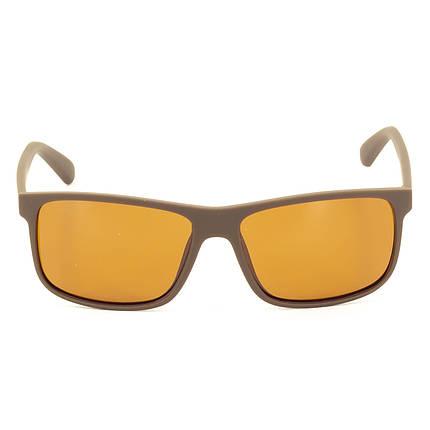 Солнцезащитные очки Marmilen TR-90 P1956 C20 кричневые матовые   ( P1956-20 ), фото 2