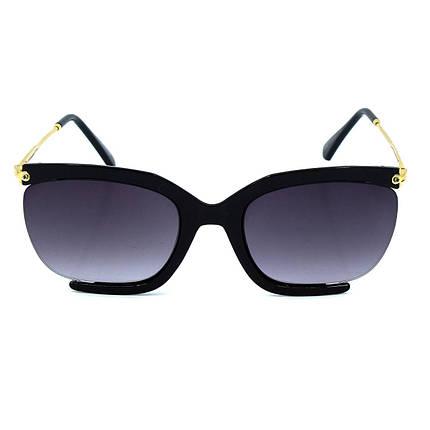 Солнцезащитные очки Marmilen 1558 C1 черные     ( 1558-01 ), фото 2