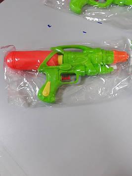 Пистолет для игры с водой салатовый