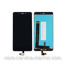 Дисплей для Xiaomi Redmi Note 4 + touchscreen Black (OEM