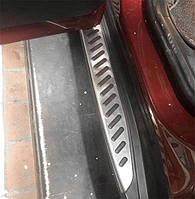 Подножки Оригинал на BMW X3 G01 (c 2018 --) Под брызговик