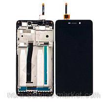 LCD Xiaomi Redmi 4a + touch + frame Black Original