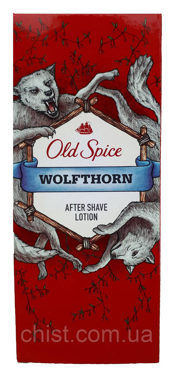 Old Spice лосьон после бритья (100мл) Wolfthorn