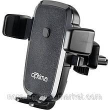 Холдер Optima OP-CH10W (Wireless Charger) Black