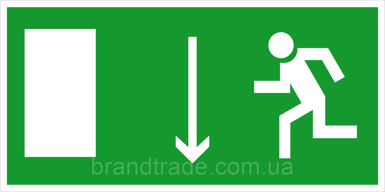 Указатель двери эвакуационного выхода (правосторонний, левосторонний)