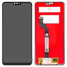 Дисплей для Xiaomi Mi8 Lite + touchscreen Black (OEM)