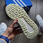 Чоловічі кросівки Adidas ZX500 RM (білі) KS 1462, фото 2