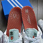 Чоловічі кросівки Adidas ZX500 RM (білі) KS 1462, фото 4