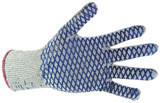 Перчатки рабочие х/б вязанные с акриловой нитью Кросс