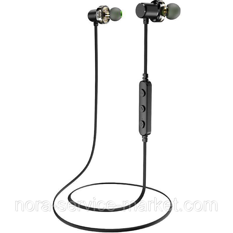 Stereo Bluetooth Headset Awei X680BL Sport Black