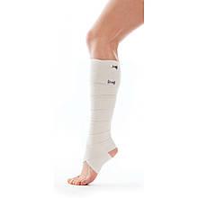 Бинт еластичний медичний з кліпсою-застібкою 10 см*5 м