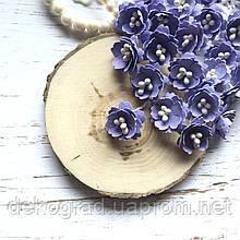 Цветы Сливы 25мм Сиреневый с тычинками