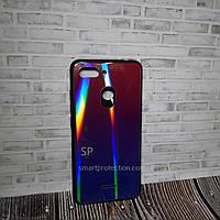 Чехол накладка для Xiaomi Redmi 6 фиолетовый  Miami Shine Gradient