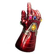 Світна рукавичка Залізної людини! Месники: фінал. Рукавичка Iron Man 30см