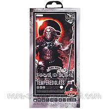 Захисне скло Remax GL-036 Tempered 3D Glass iPhone 7/8 Black + USB Cable Lightning