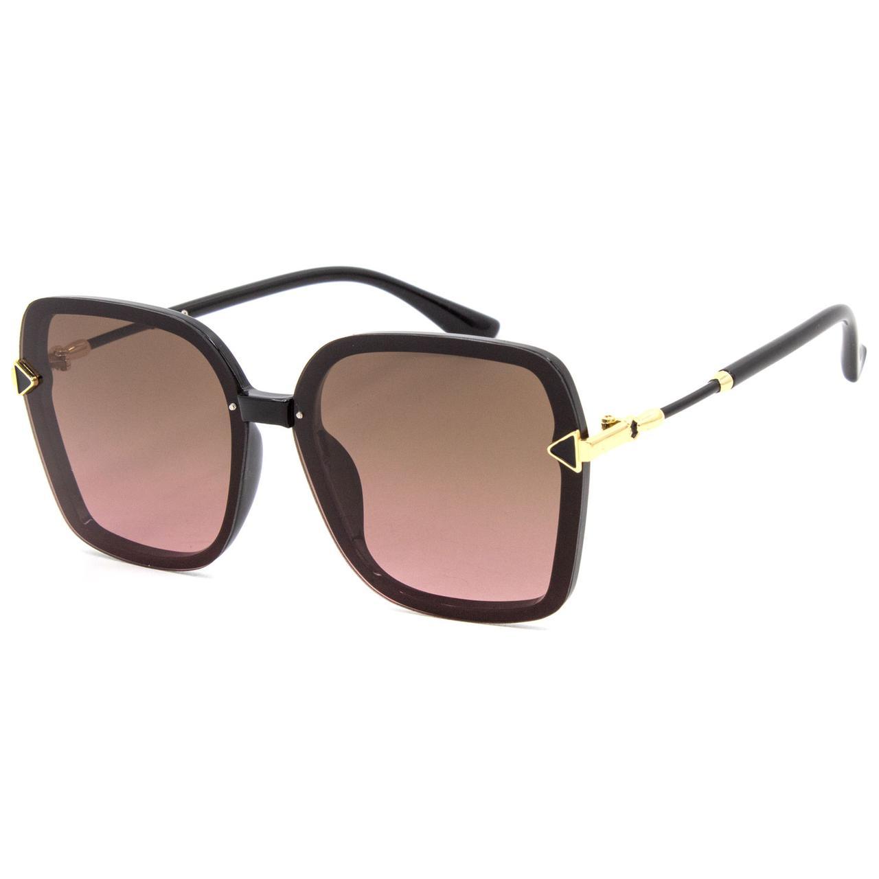 Солнцезащитные очки Marmilen Polar 3229 C3 черные с розовым   ( 3229-03 )